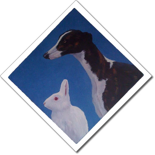 Greyhound and Rabbit